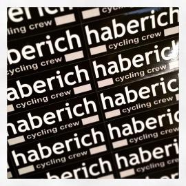 haberich cycling crew - sticker